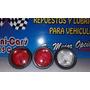 Stop Redondo 4 Pulgadas Universal Camiones,bateas