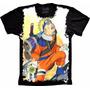 Camisa Roupas Naruto Shippuden Akatsuk Anime Personalizada