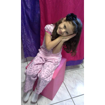 Pijama Infantil Demillus Flueter Rosinha 6 Anos