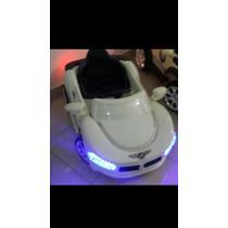 Carro De Bateria Recargable Mp3 Y Luces