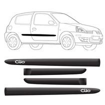 Kit Friso Lateral Renault Clio 2 Portas Personalizado 4 Pçs