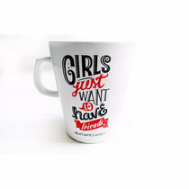 Tazas De Cerámica Girls Love B-day Xoxo Ouioui Quitapesares