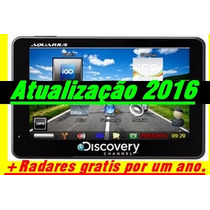 Atualização Gps Aquarius Discovery 2015