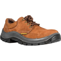 Zapato De Trabajo Cuero Nobuck 34 A 47 Work Safe Pta Plastic