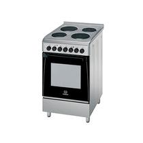 Cocina Eléctrica Indesit Kn3e51x Inox 50 Cm 4 Hornallas