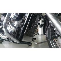 Protetor De Radiador Inox Honda Shadow 750 2004 À 2016