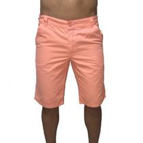 Bermuda Masculina Coloridas Branca Ou Coral