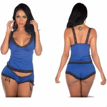Short Doll Sensual Baby Doll Camisola Lingerie Sexy T1