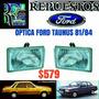 Óptica Ford Taunus 81 82 83 84