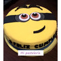 Tortas Minnions. Tortas Angry Birds. Cupcakes. La Plata.