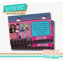 Monster High Invitación - Tarjeta Monster High Para Imprimir