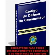 Código De Defesa Do Consumidor (obrigatório)evite Multas!!!