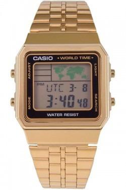 b7c42161edf Relógio Casio Unissex Vintage World Time A500wga-1df Novo - R  247 ...