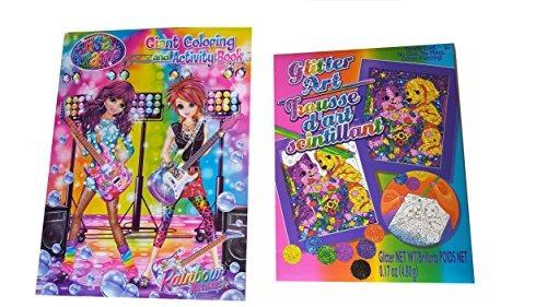 Lisa Frank Coloring Book Y El Kit Del Brillo Del Arte Bundl ...