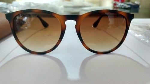 3187e58d78663 Óculos Sol Ray Ban Erika Original Rb4171 865 13 - R  269