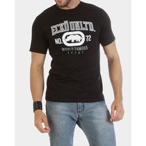 Camiseta Masculina Ecko Unltd Preta Estilo Fit