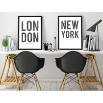 Lamina De New York, Sidney, London, Roma, Madrid, Paris.
