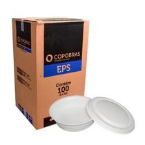 Marmitex Isopor Quentinha Nº 9 - 1100ml C/ Tampa Copobras