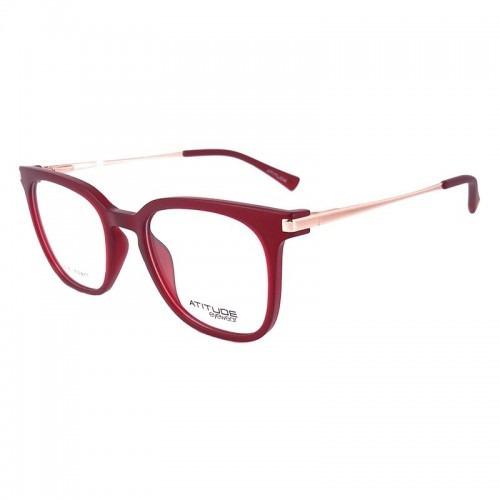b6ac8f9e9fa0f Óculos De Grau Vermelho Atitude At4039 T01 - Original - R  209