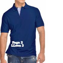 Paga 2 Y Lleva 3 Camisas Polo! Oferta De Temporada- Polos