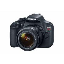 Cámara Canon Eos Rebel T5 18-55mm Reacondicionado