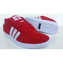 Tenis Adidas Skate - Estilo Swag Red Color