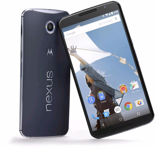 Celular Motorola Nexus 6 4g Lte 32gb Envio Gratis Asegurado - $ 6,899.00 en Mercado Libre