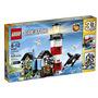 Juguete Lego Creator Kit Faro De La Punta De Construcción