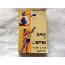 Libro Lengua Y Literatura (tercer Curso)