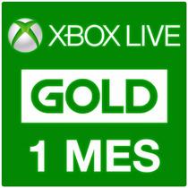 Membresias Xbox Live Gold 1 Mes, Envio Inmediato Por Email!
