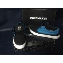 Zapatillas Dunkelvolk Skater Dex Blue Talla 41y43 Nuevas !!!