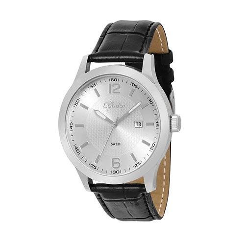 71591a9f9f7 Relógio Condor Masculino Copc32al 3c Couro - R  149