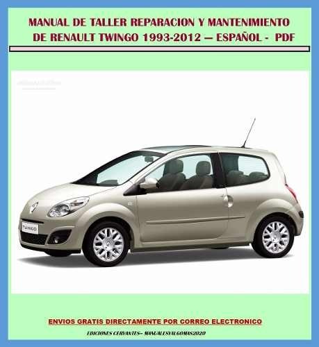 manual de taller servicio renault twingo 1993 2012 espa ol rh articulo mercadolibre com co Renault Kangoo Renault Clio
