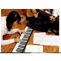 Organo Musical Teclado Piano Flexible Con Vibracion