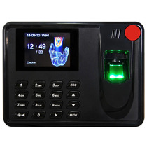 Reloj Checador Huella Digital Conexion Usb Incluye Software