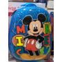 Valija Mochila Semi Rigida Con Ruedas Infantil Mickey Mouse