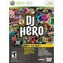 Dj Hero Xbox 360 Nuevo Solo Videojuego Blakhelmet Sp