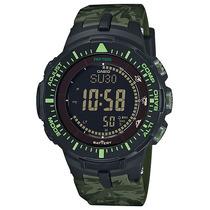 Relógio Casio Pro Trek Triple Sensor Masculino Prg-300cm-3dr