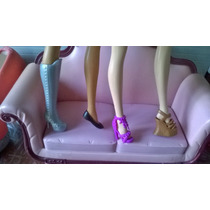 Barbies, Top Model, My Scene, Monster, Zapatos, Botas, Piso