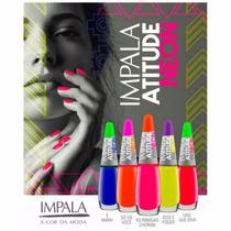 Kit Esmalte Impala Atitude Neon