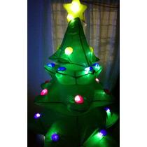 Inflable Arbol Navidad Giratorio