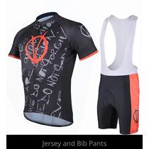 Super Heroes Jersey Ciclismo Playera+shorts Tarda 4-5 Semana