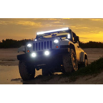 Par Faros Led Niebla Jeep Wrangler Jk Charger Journey 4x4
