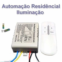 Iluminação Led Automação Casa Controle Remoto Lampada Spot