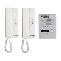 Kit Interfon Con 2 Auriculares Interfon Intercomunicador