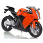 Moto Ktm Rc8 Escala 1:12 Joy City