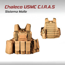 Chaleco Ciras Tactico Militar Molle Gotcha Paintball Airsoft