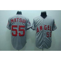 Franela Mlb Majestic Angels Anaheim Talla: 52 Original