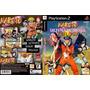Jogo - Naruto Ultimate Ninja Trilogy - Playstation 2