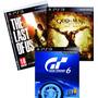 Juegos Play3 Last Of Us Gt6 God Of War Nuevos Fisico Combox3